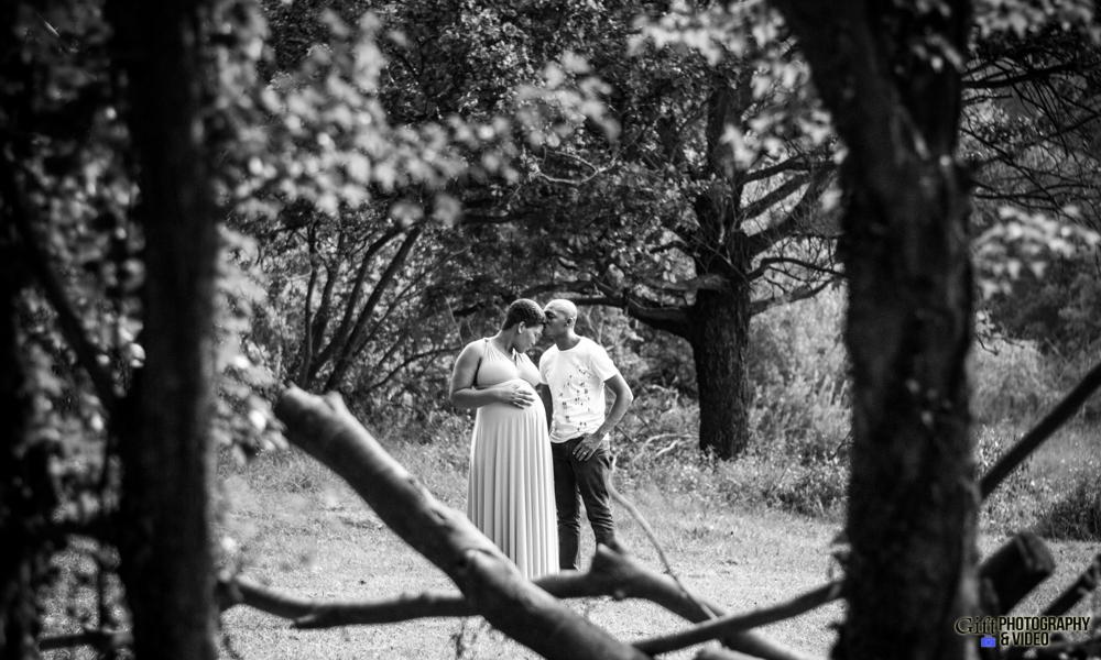 Dineo & Matli - Location Maternity Shoot - Little Falls-21