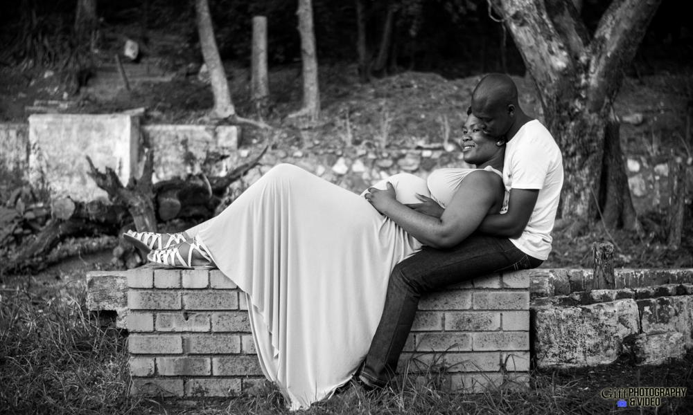 Dineo & Matli - Location Maternity Shoot - Little Falls-22