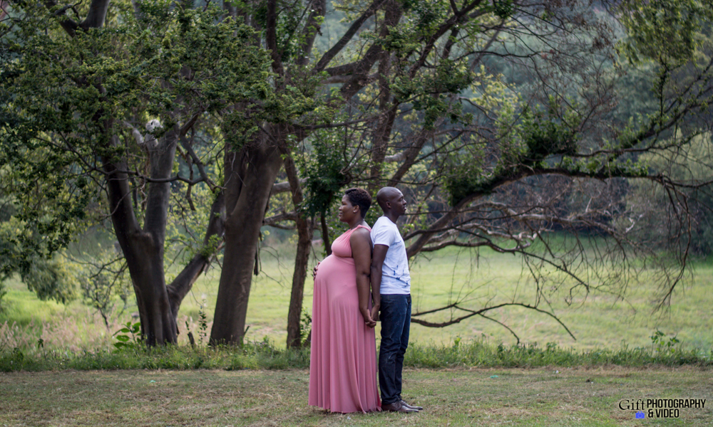 Dineo & Matli - Location Maternity Shoot - Little Falls-23
