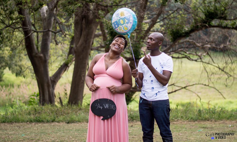 Dineo & Matli - Location Maternity Shoot - Little Falls-24