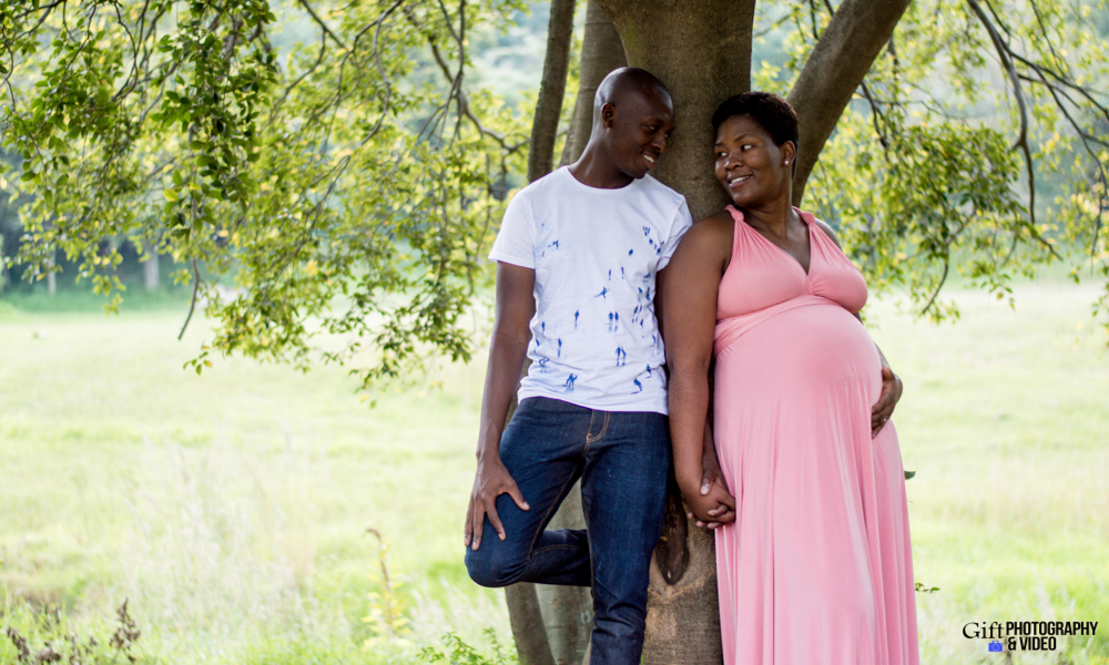 Dineo & Matli - Location Maternity Shoot - Little Falls-26