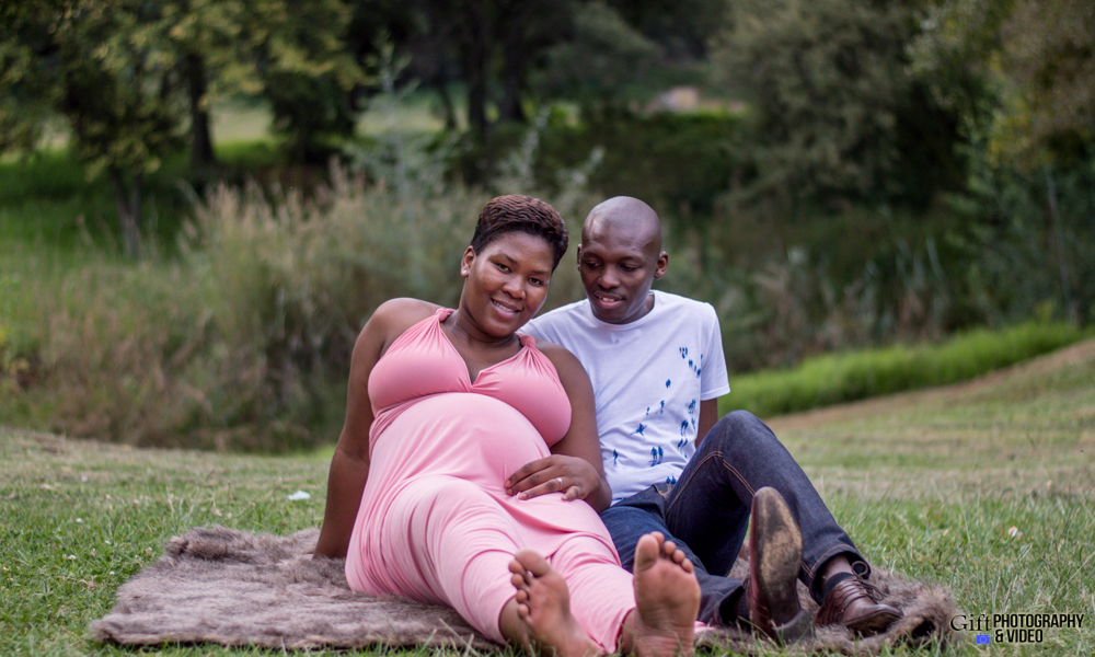 Dineo & Matli - Location Maternity Shoot - Little Falls-35