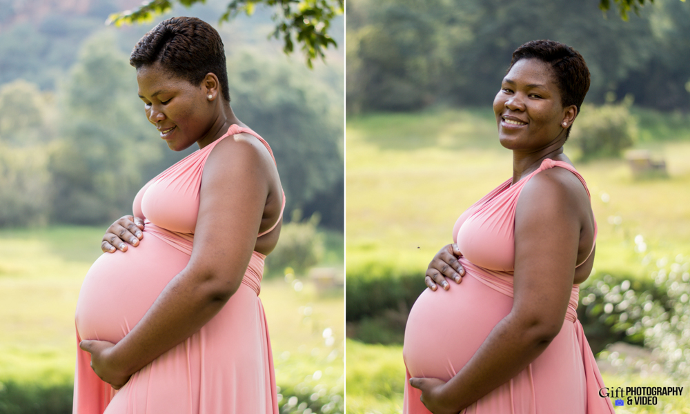 Dineo & Matli - Location Maternity Shoot - Little Falls-6