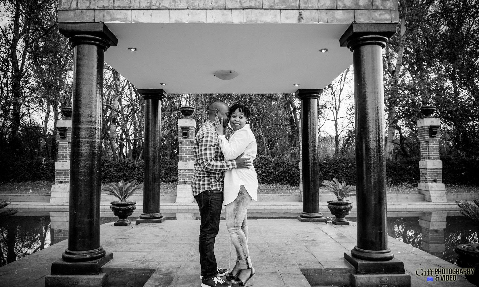 Virginia & Godfrey Engagement Velmore Hotel-4