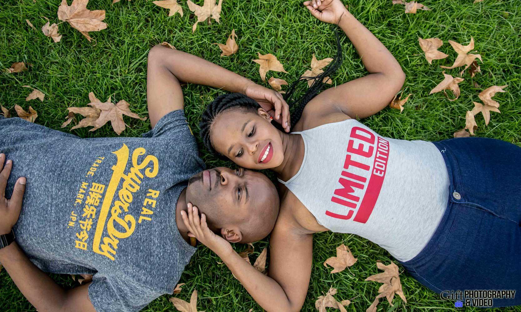 Naledi & Bongani Engagement Shoot Zoo Lake-24