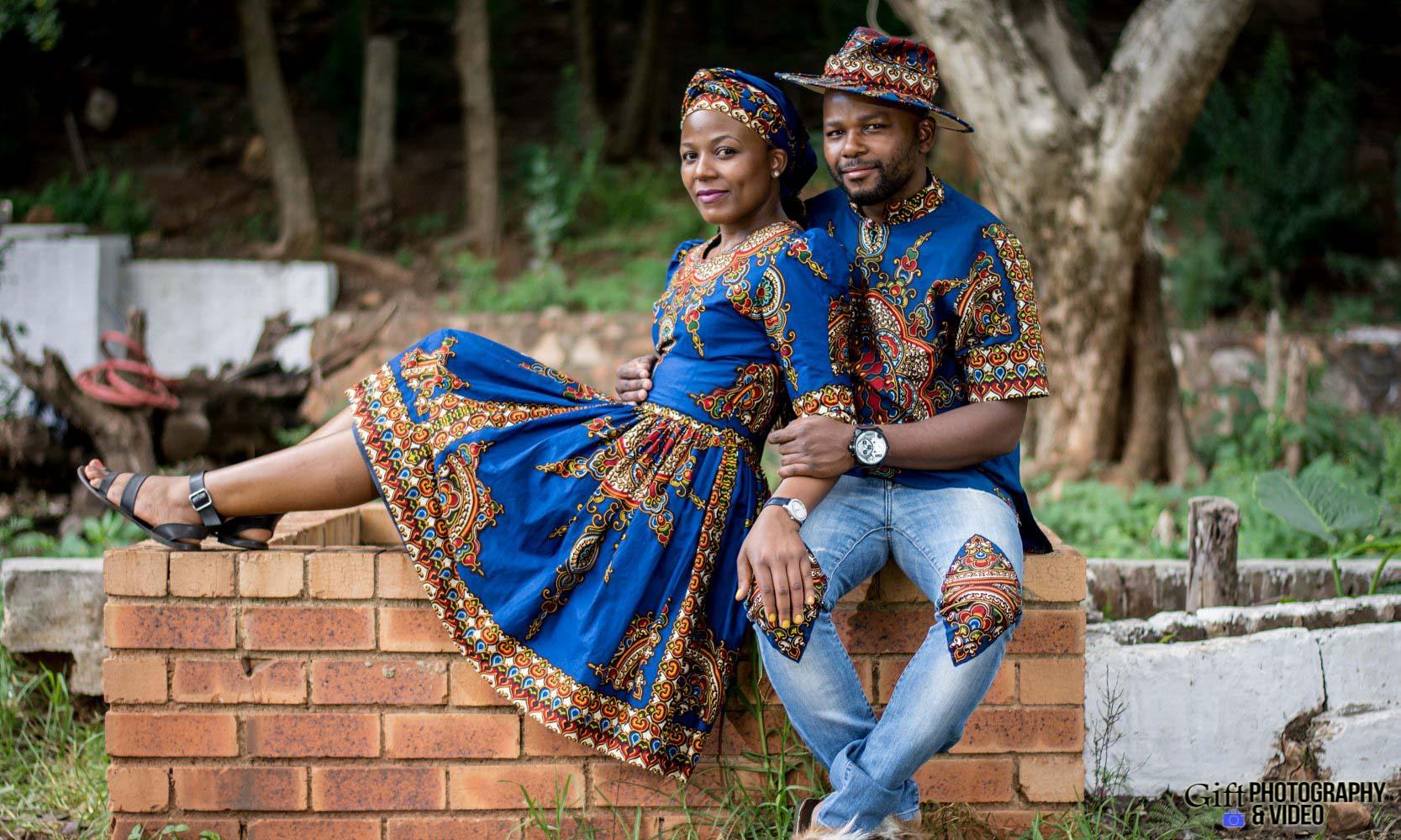 Siphiwe & Kholofelo Engagement Shoot Little falls-11
