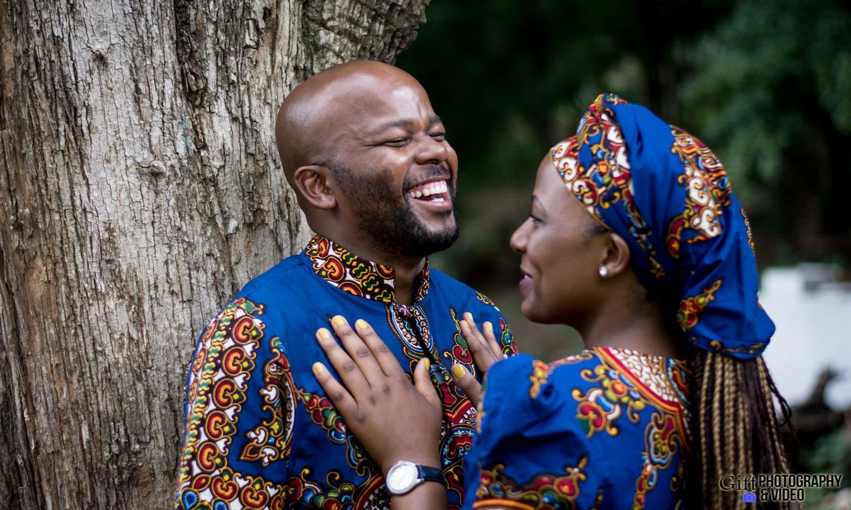 Siphiwe & Kholofelo Engagement Shoot Little falls-13