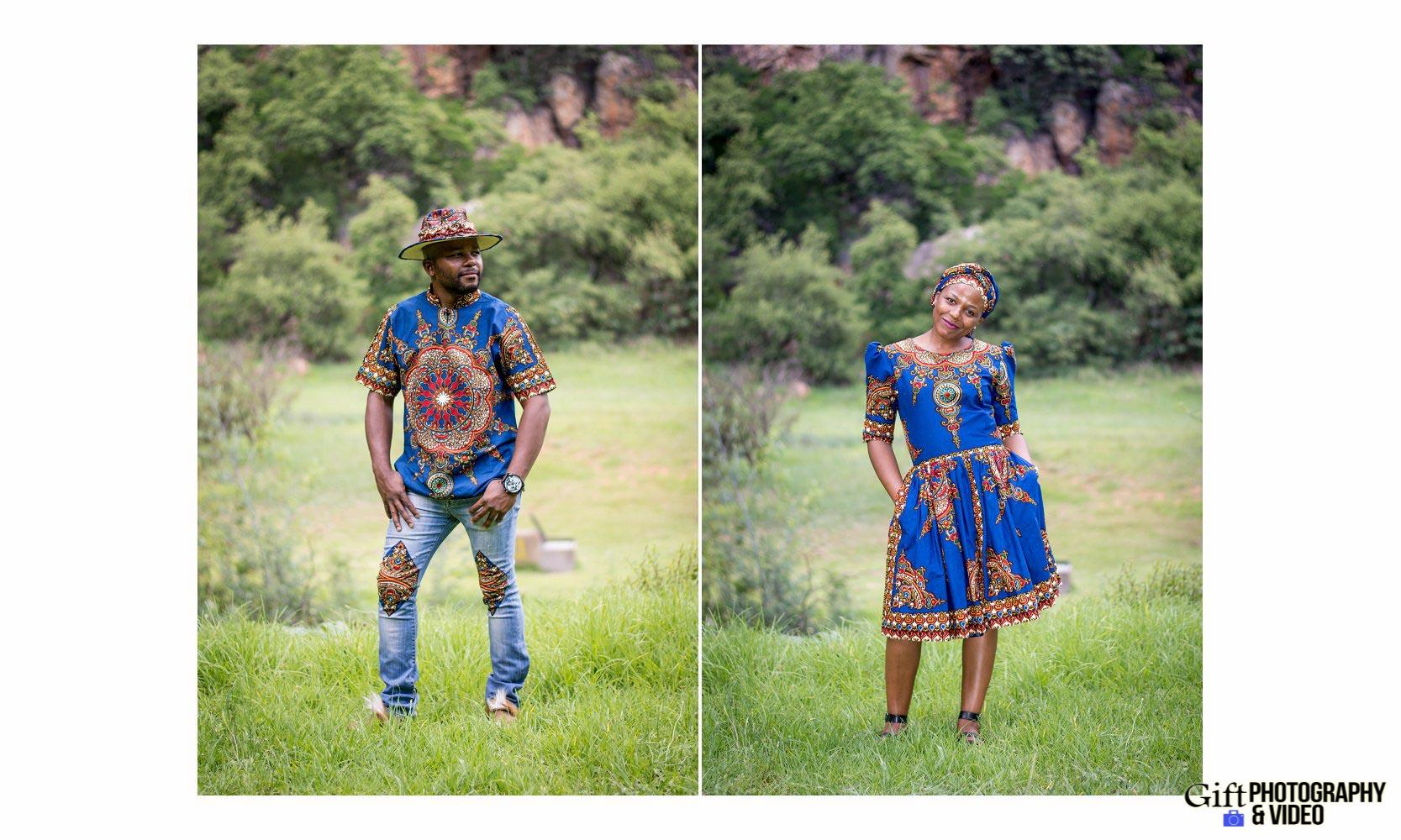 Siphiwe & Kholofelo Engagement Shoot Little falls-15