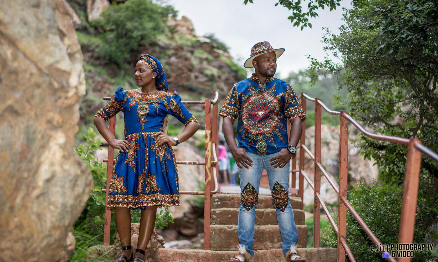 Siphiwe & Kholofelo Engagement Shoot Little falls-18