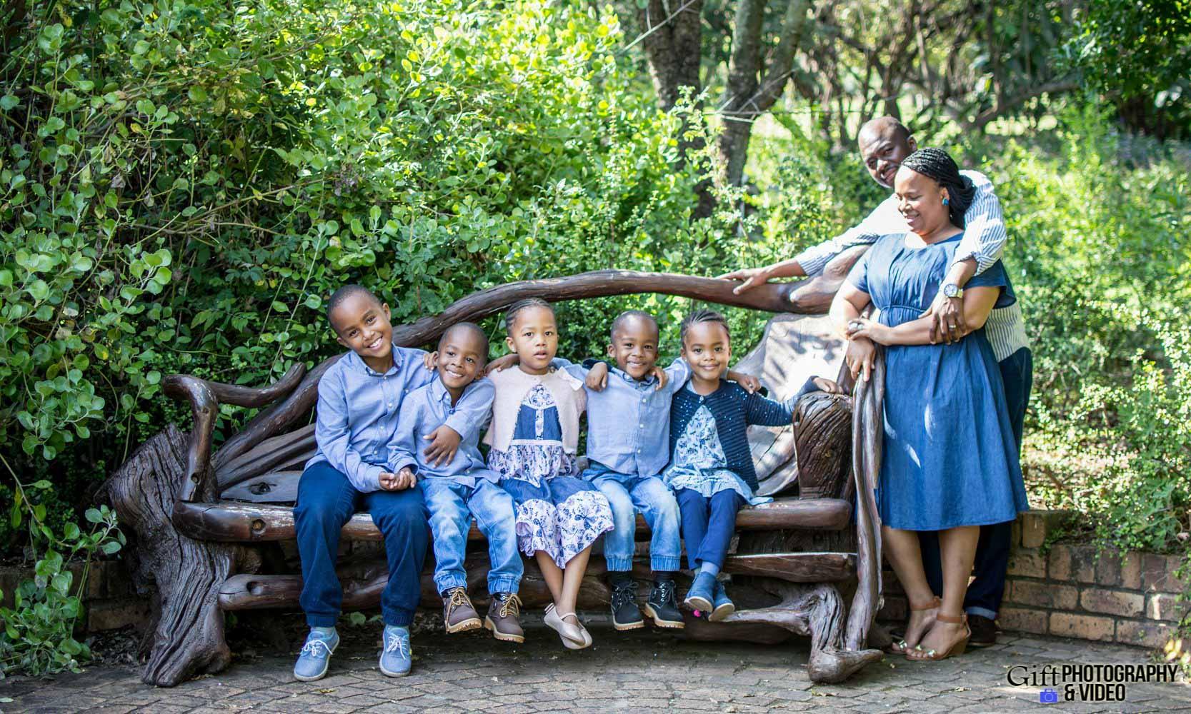 Blose Family Shoot Walter Sisulu Botanical Gaderns-21