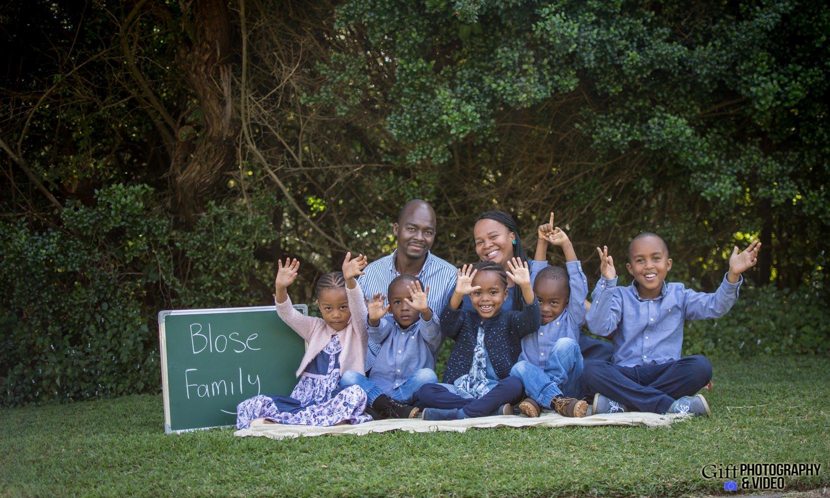 Blose Family Shoot Walter Sisulu Botanical Gaderns-5