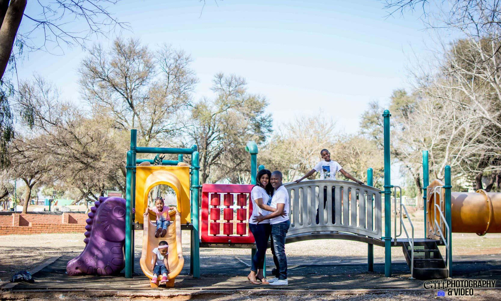 Lerato & Tumelo Family Shoot - Tokoza Park-18