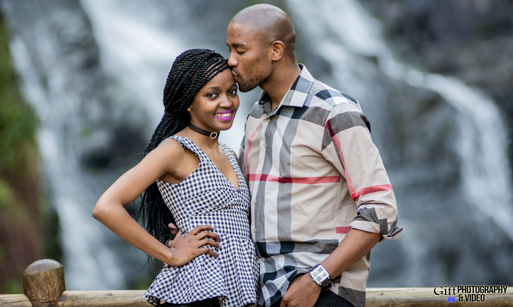 Thandi and Mosiuoa Engagement - Walter Sisulu Botanical Garden -1