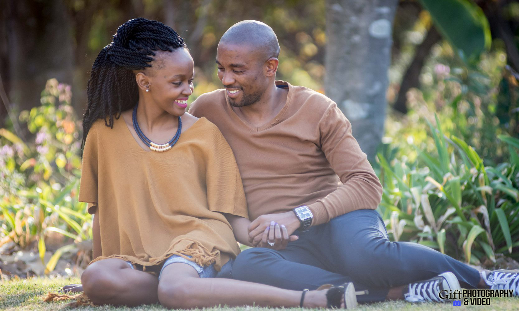 Thandi and Mosiuoa Engagement - Walter Sisulu Botanical Garden -11