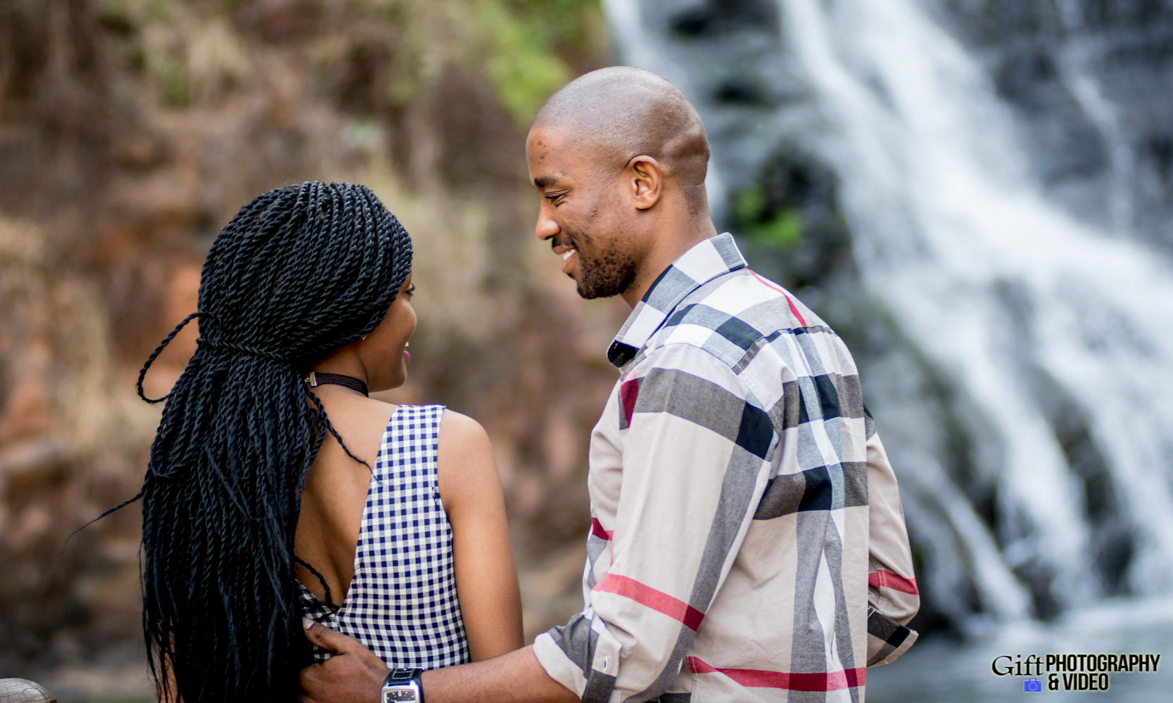 Thandi and Mosiuoa Engagement - Walter Sisulu Botanical Garden -13