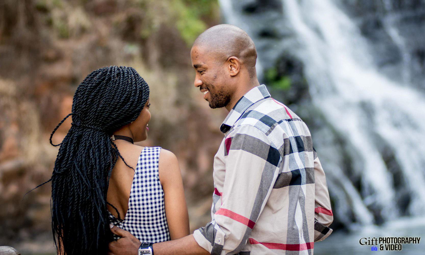 Thandi and Mosiuoa Engagement - Walter Sisulu Botanical Garden -13