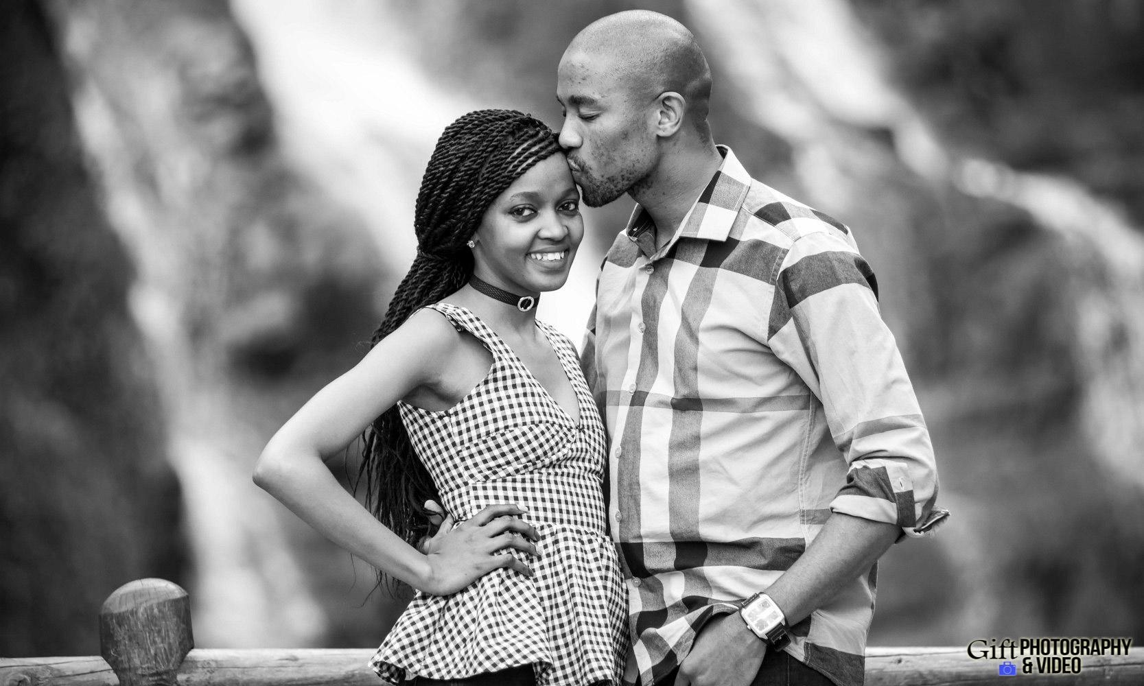 Thandi and Mosiuoa Engagement - Walter Sisulu Botanical Garden -15