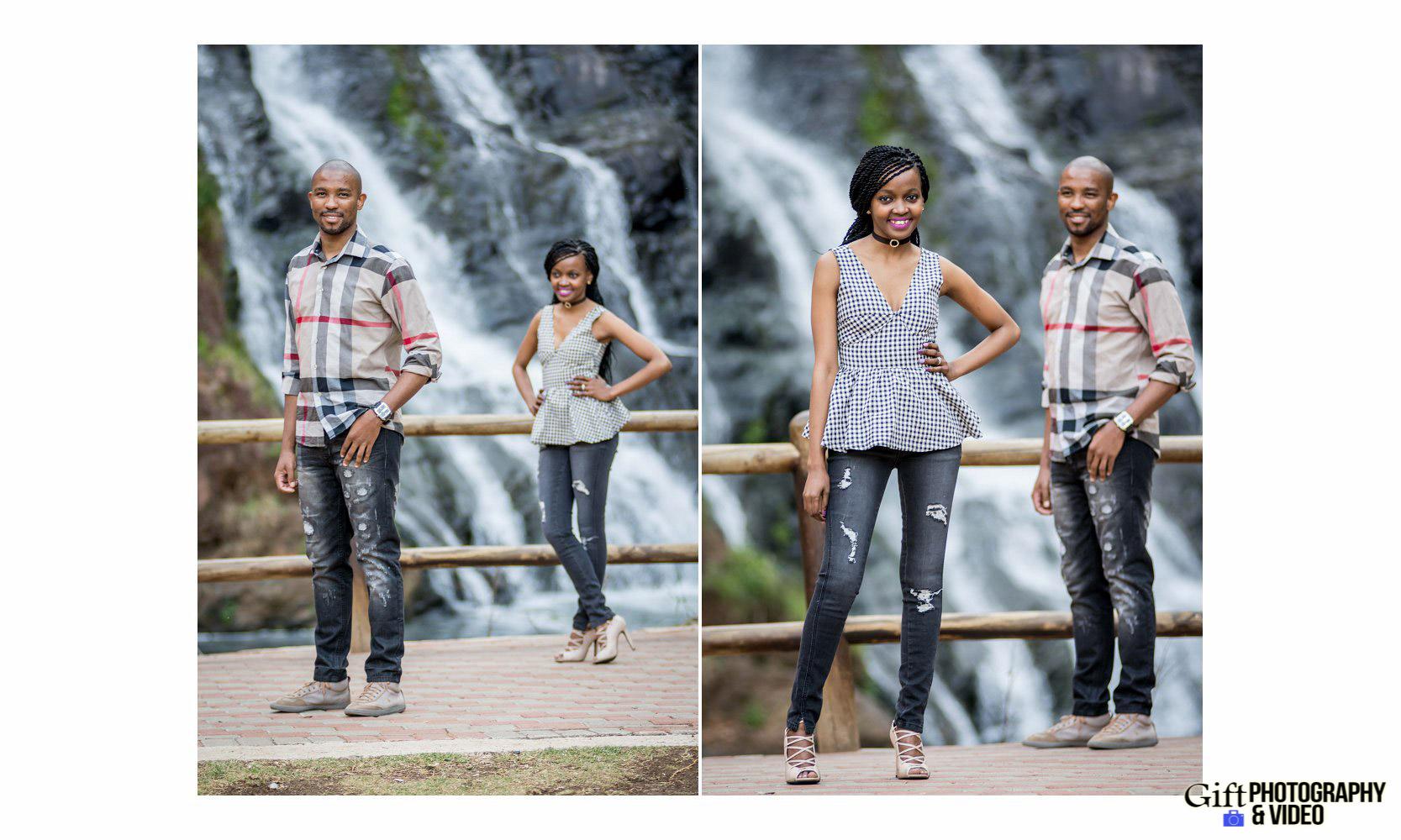 Thandi and Mosiuoa Engagement - Walter Sisulu Botanical Garden -16