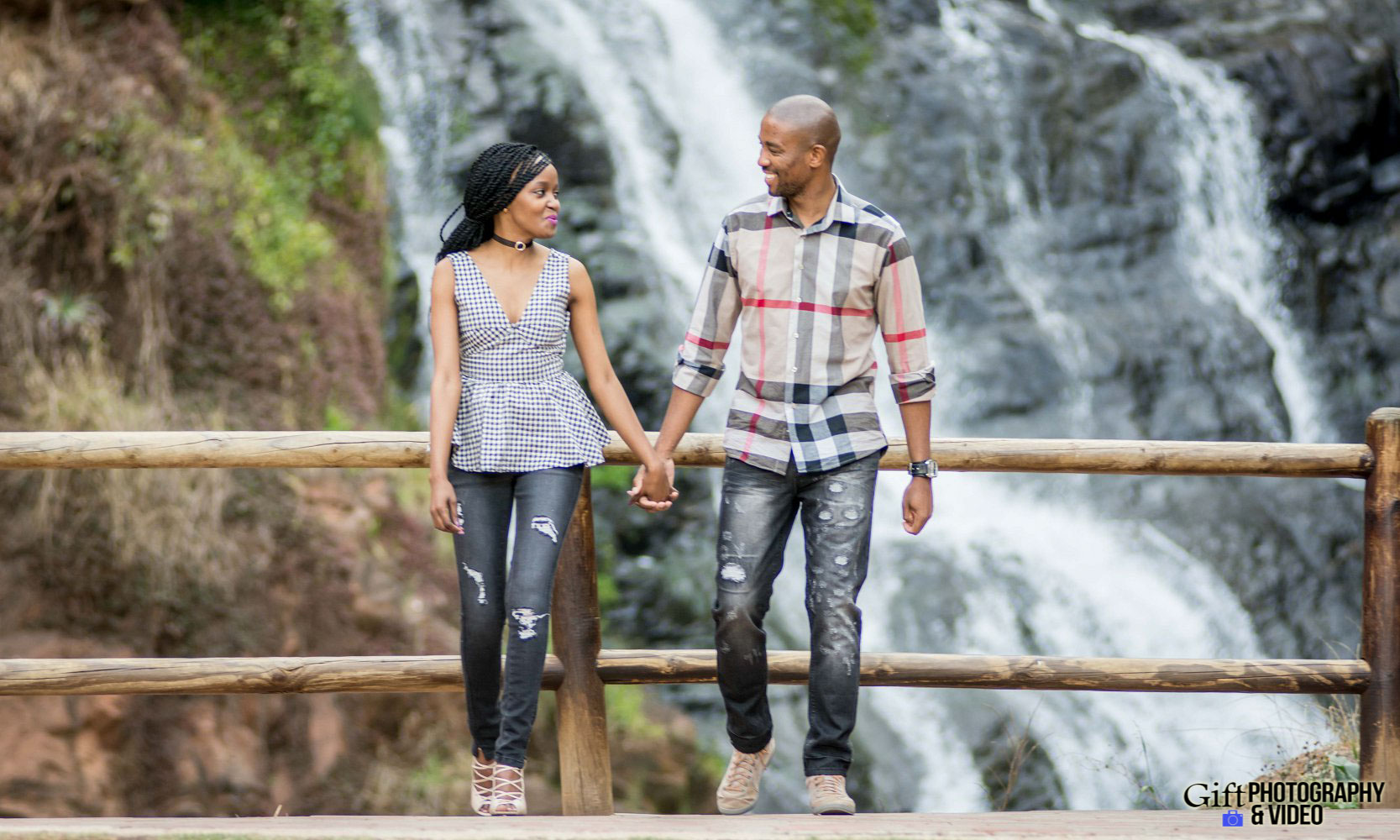Thandi and Mosiuoa Engagement - Walter Sisulu Botanical Garden -19