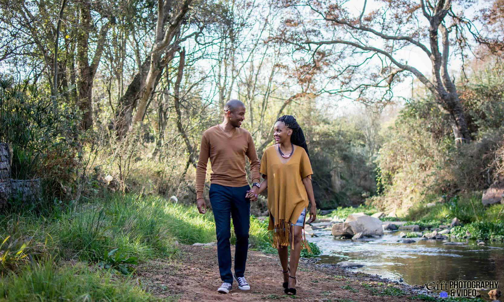Thandi and Mosiuoa Engagement - Walter Sisulu Botanical Garden -2