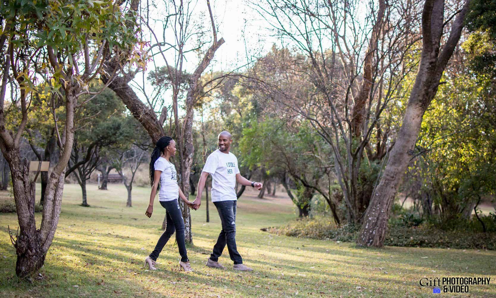 Thandi and Mosiuoa Engagement - Walter Sisulu Botanical Garden -20