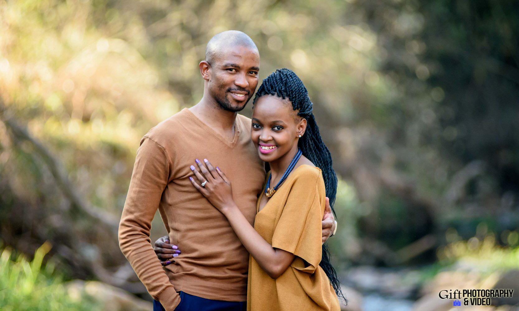 Thandi and Mosiuoa Engagement - Walter Sisulu Botanical Garden -4