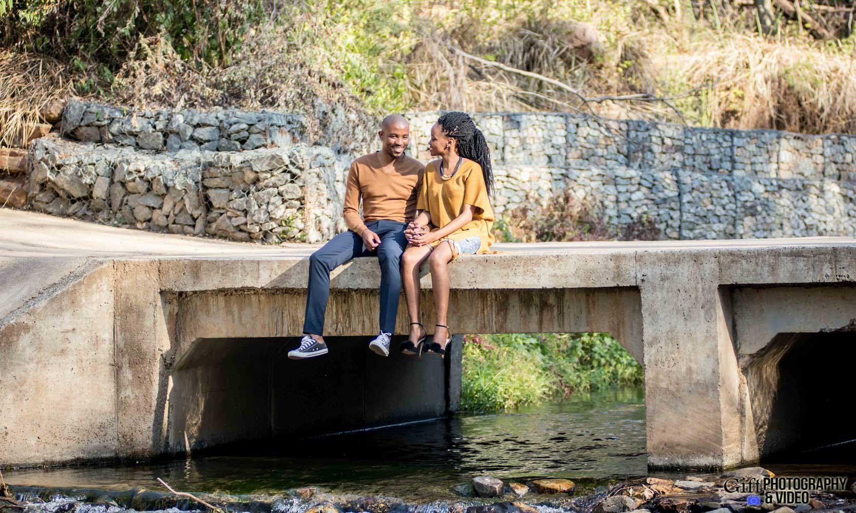 Thandi and Mosiuoa Engagement - Walter Sisulu Botanical Garden -7