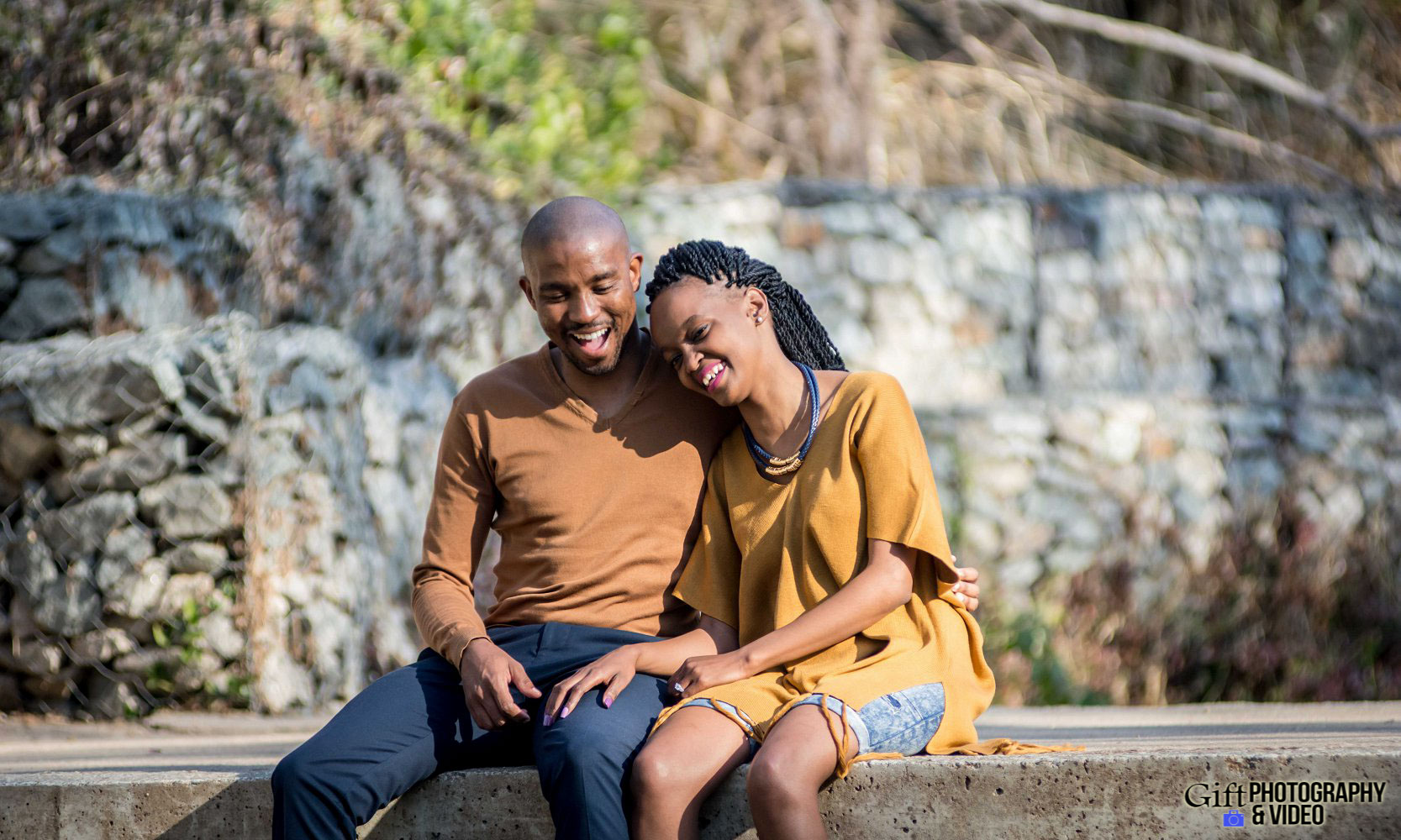 Thandi and Mosiuoa Engagement - Walter Sisulu Botanical Garden -8