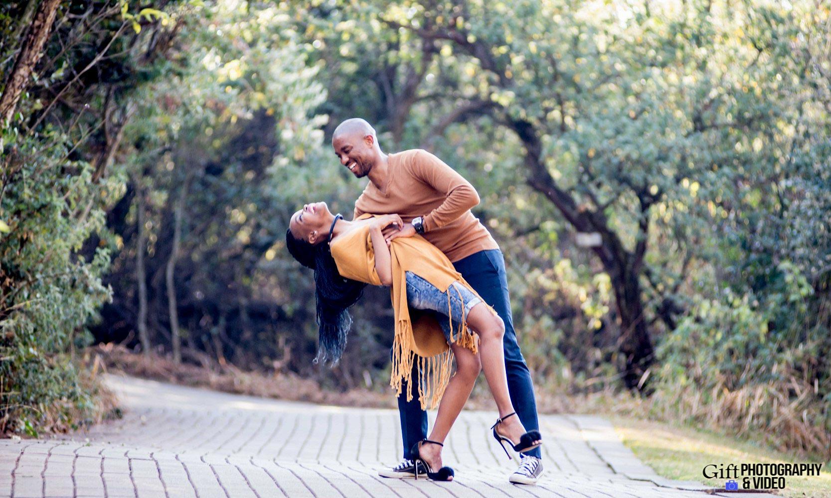 Thandi and Mosiuoa Engagement - Walter Sisulu Botanical Garden -9