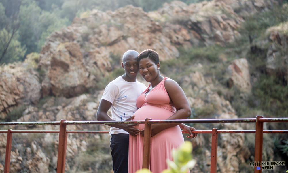 Dineo & Matli - Location Maternity Shoot - Little Falls-10