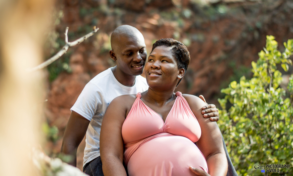 Dineo & Matli - Location Maternity Shoot - Little Falls-15