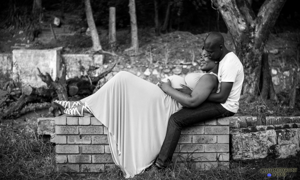 Dineo & Matli - Location Maternity Shoot - Little Falls-22