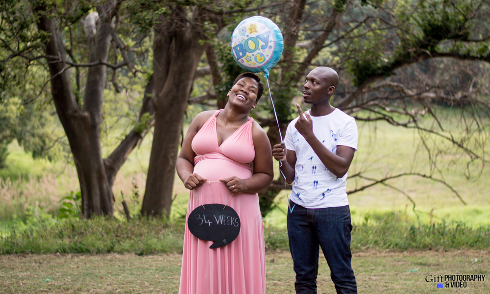 Dineo & Matli - Location Maternity Shoot - Little Falls-24