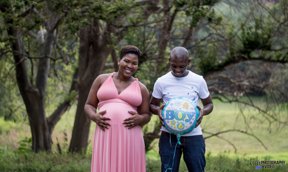 Dineo & Matli - Location Maternity Shoot - Little Falls-25