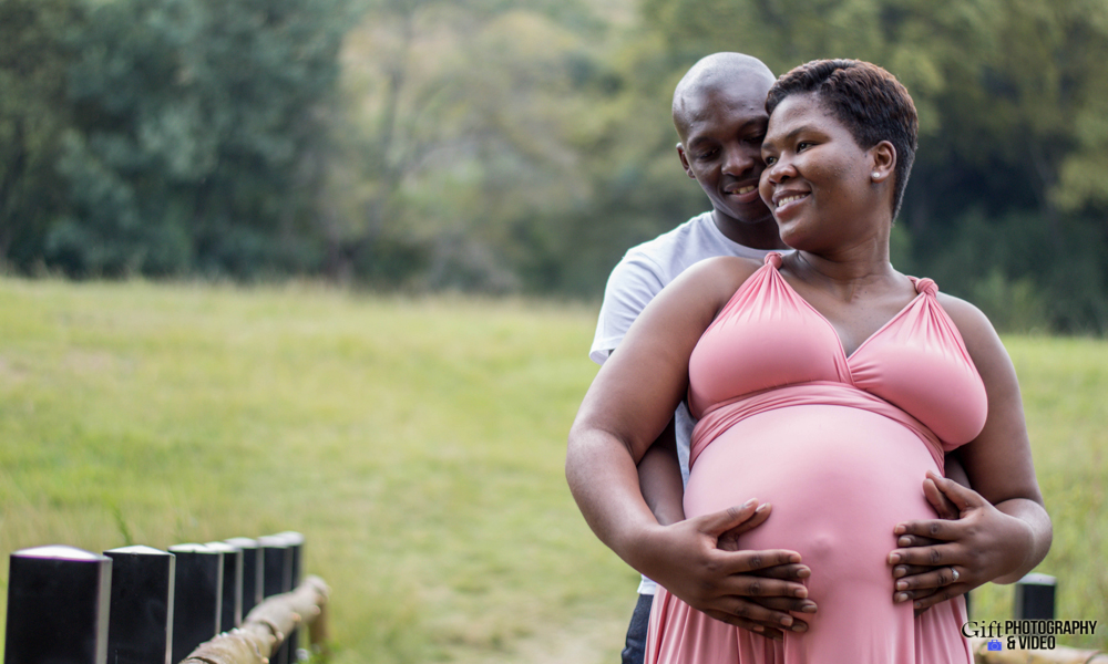Dineo & Matli - Location Maternity Shoot - Little Falls-29