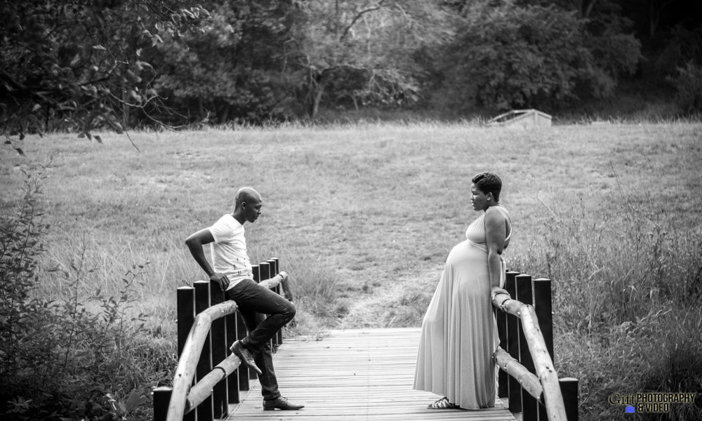 Dineo & Matli - Location Maternity Shoot - Little Falls-31