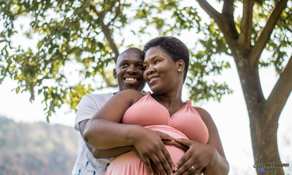 Dineo & Matli - Location Maternity Shoot - Little Falls-4