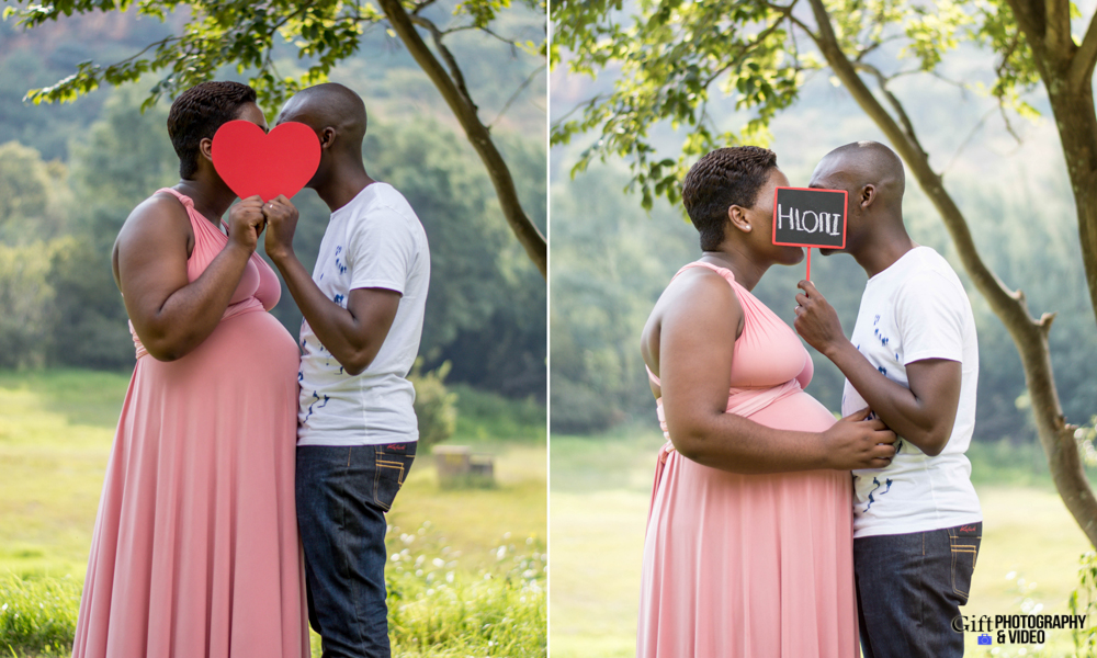Dineo & Matli - Location Maternity Shoot - Little Falls-8