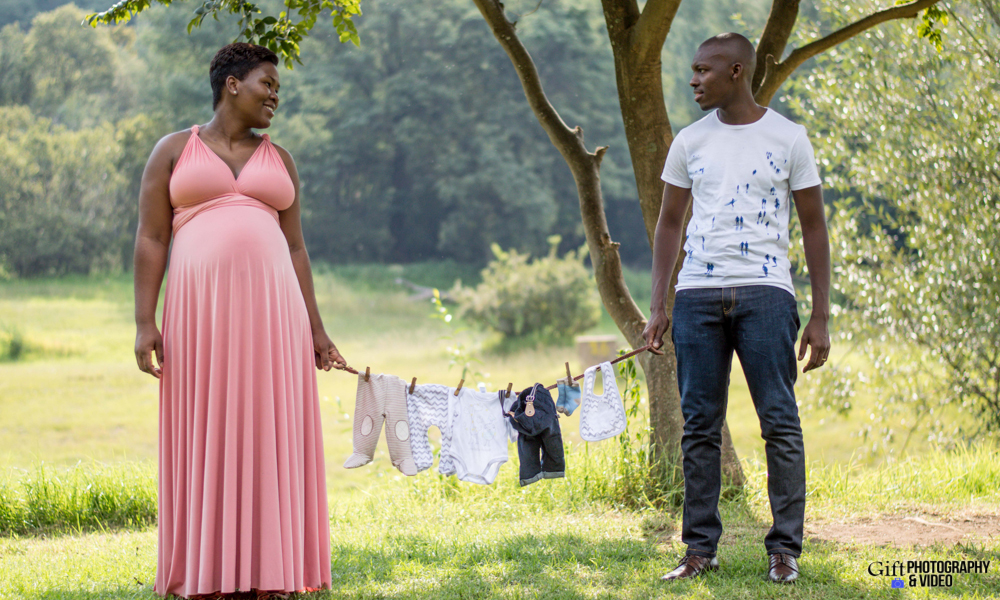 Dineo & Matli - Location Maternity Shoot - Little Falls-9