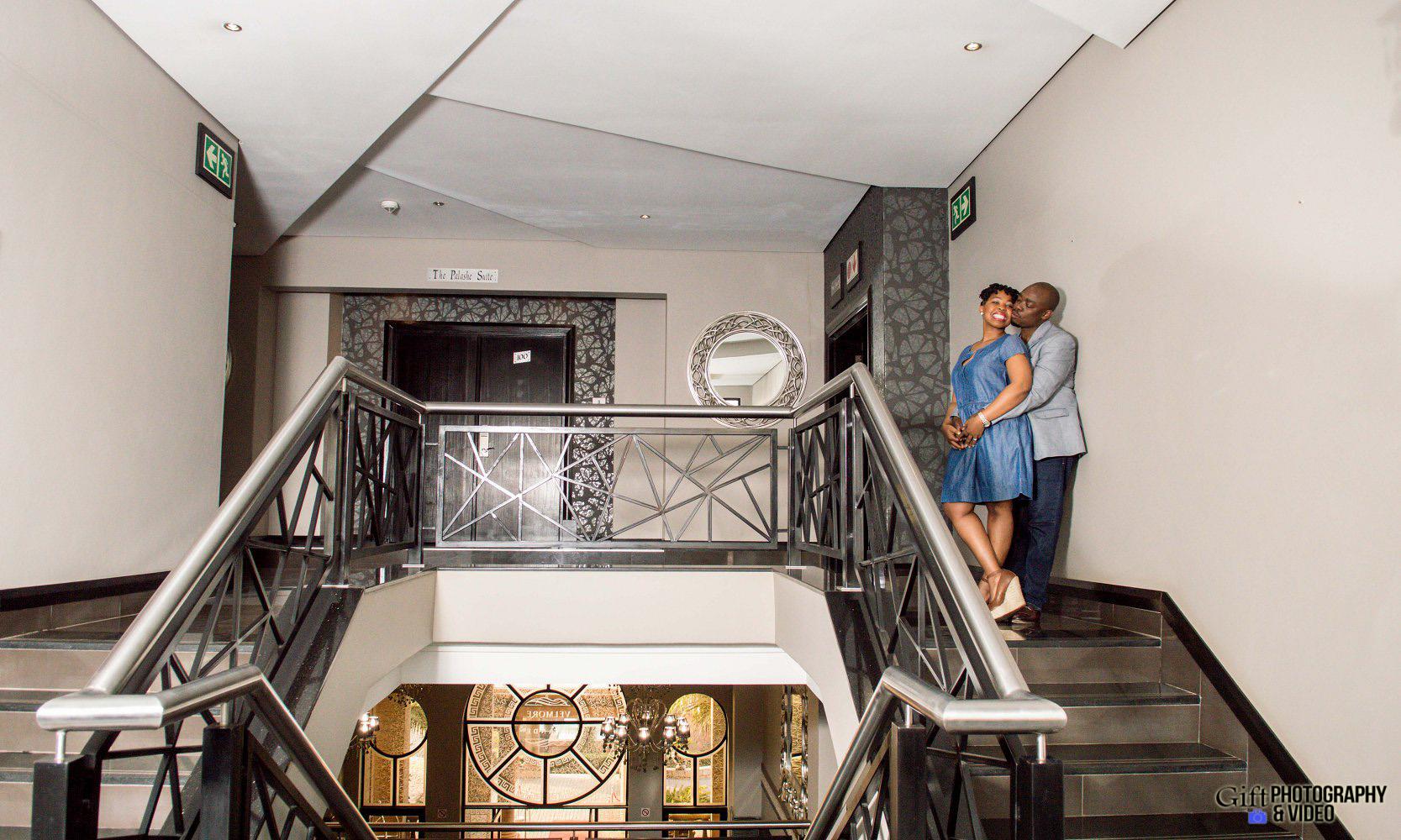 Virginia & Godfrey Engagement Velmore Hotel-19