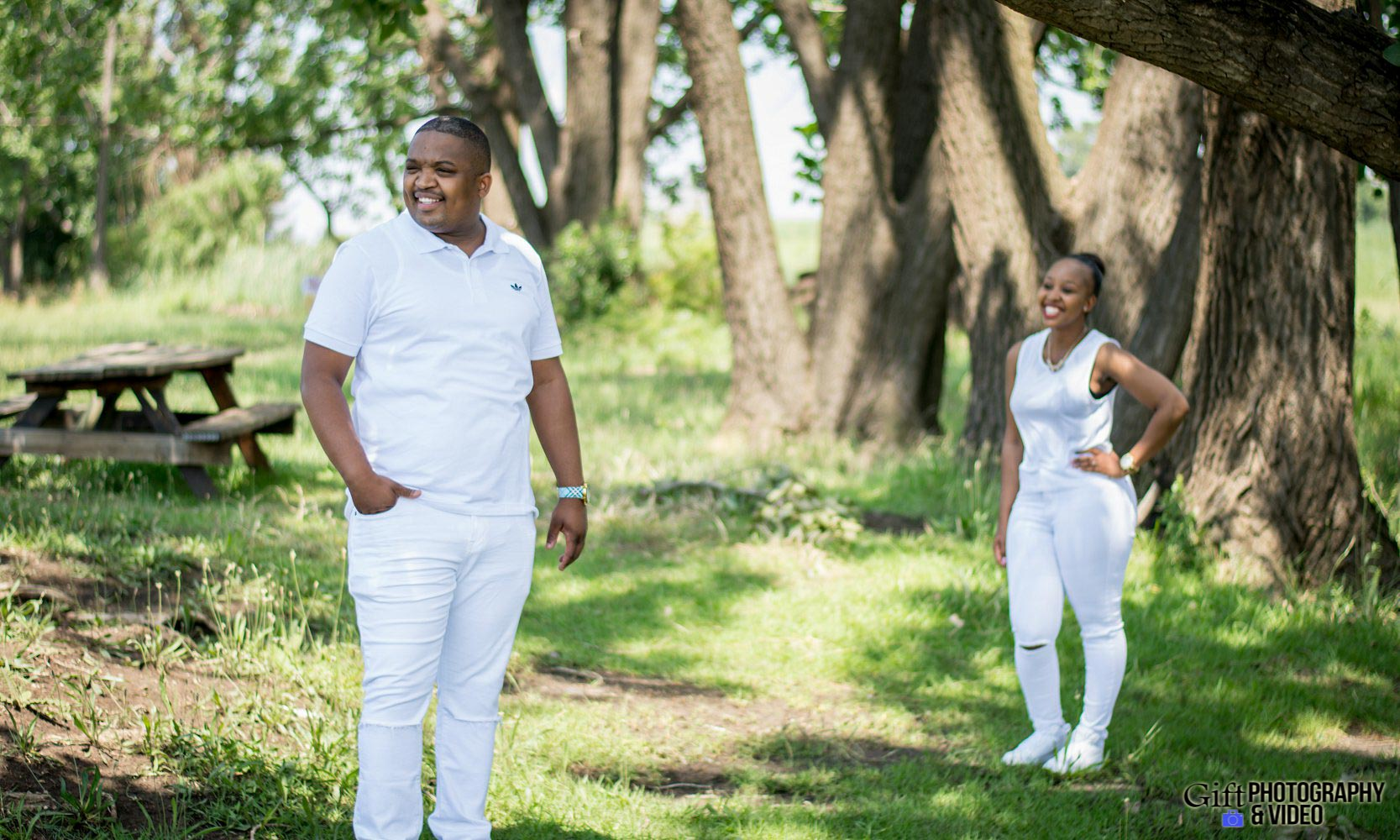 Sandile & Thandeka Engagement Reitvlei Zoo Farm-13