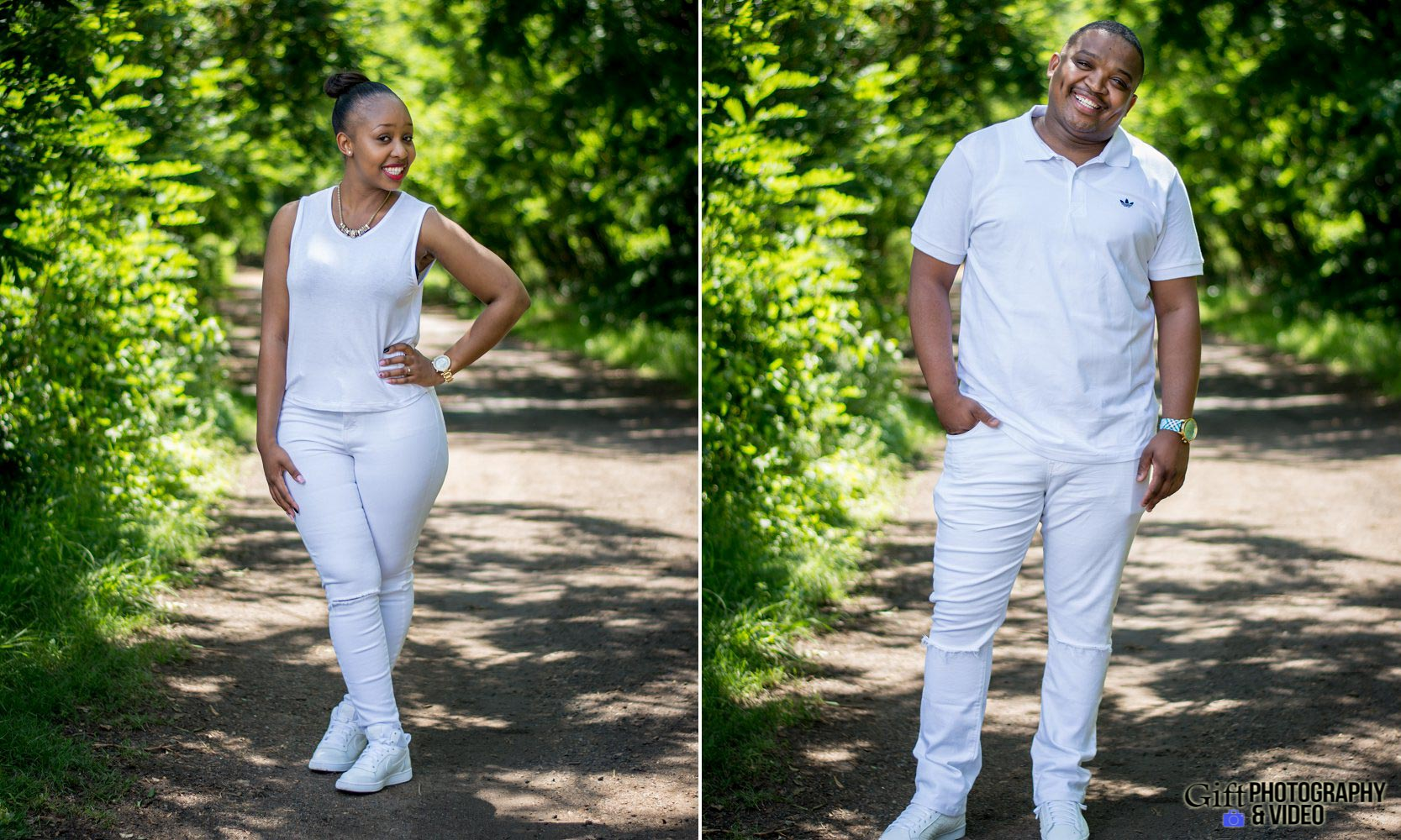 Sandile & Thandeka Engagement Reitvlei Zoo Farm-5
