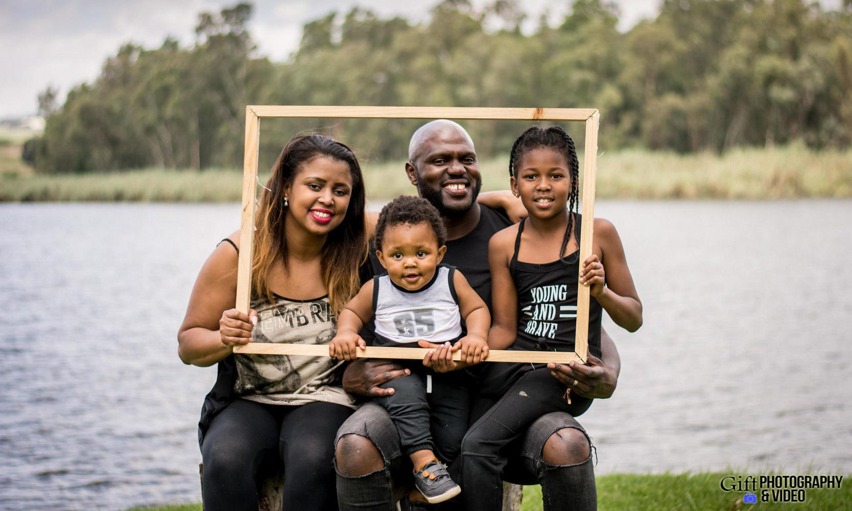 Vusi & Enhle Family Shoot Modderfontein Reserve-1
