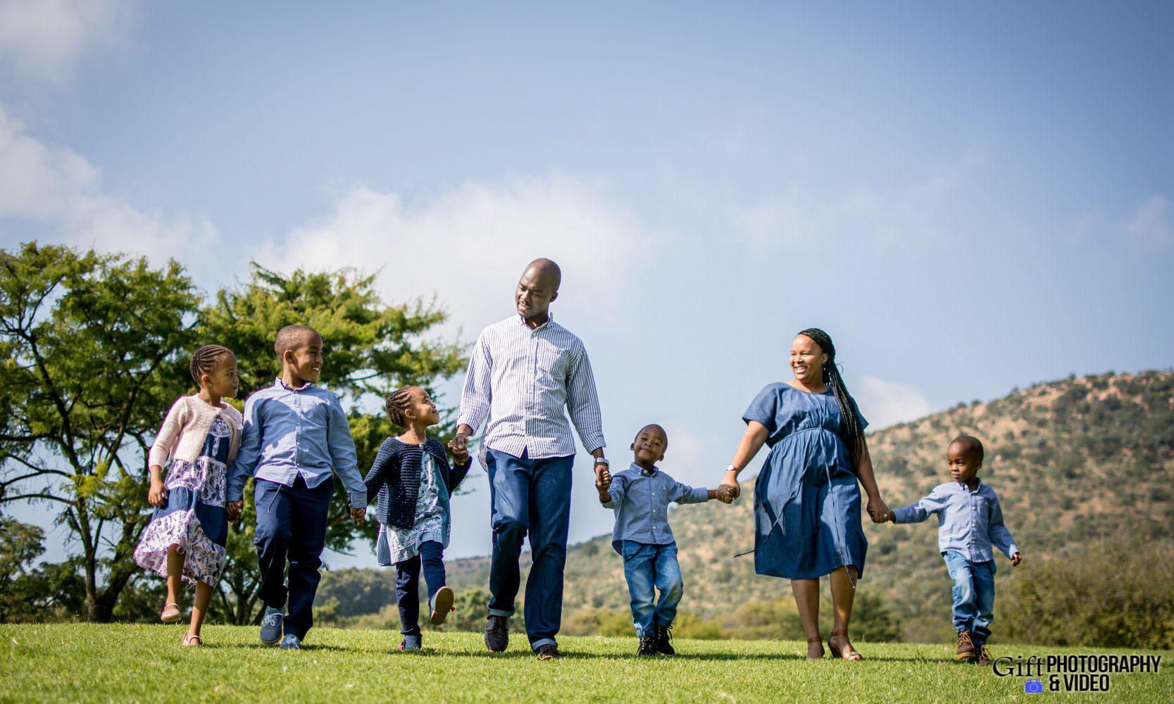 Blose Family Shoot Walter Sisulu Botanical Gaderns-1