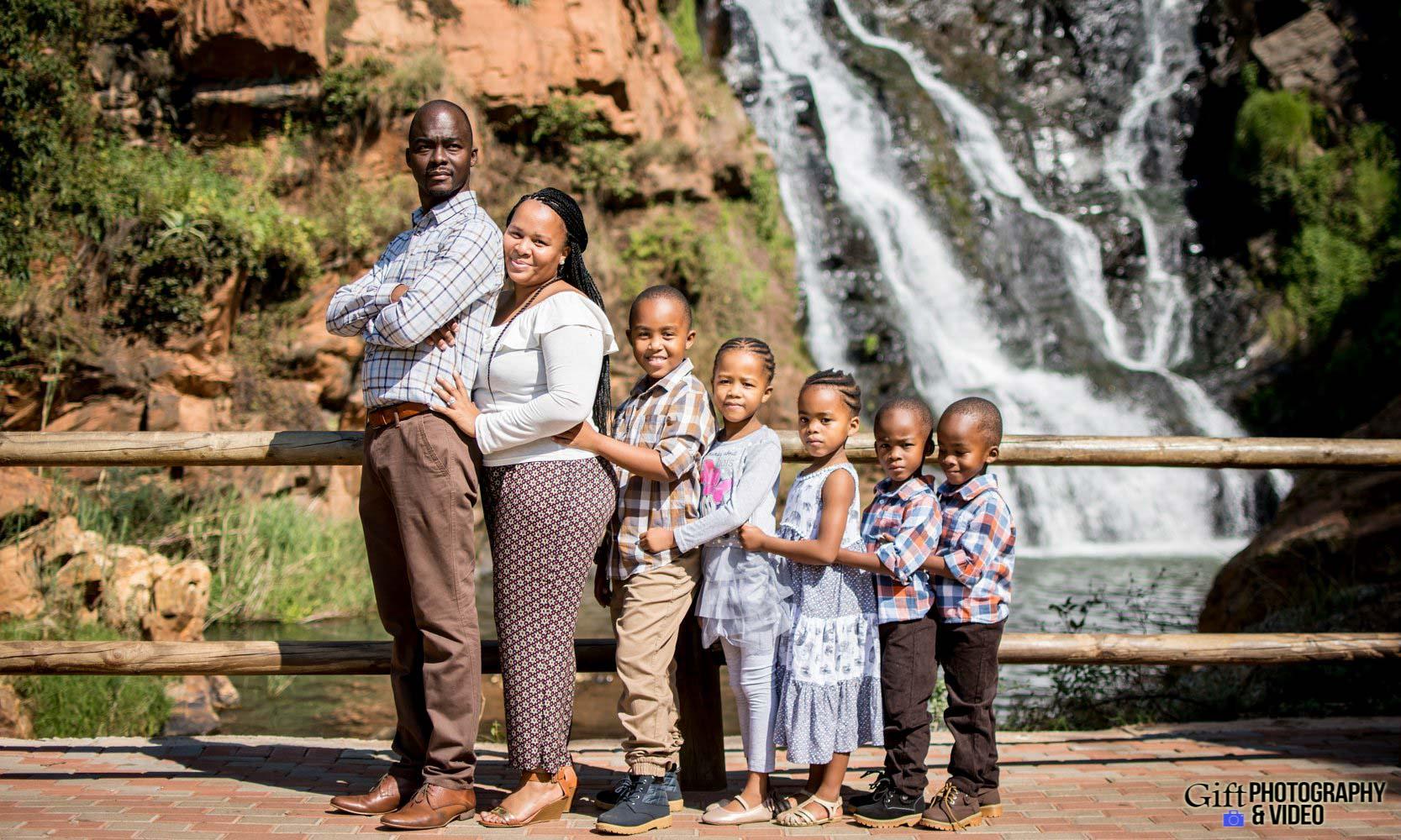 Blose Family Shoot Walter Sisulu Botanical Gaderns-27