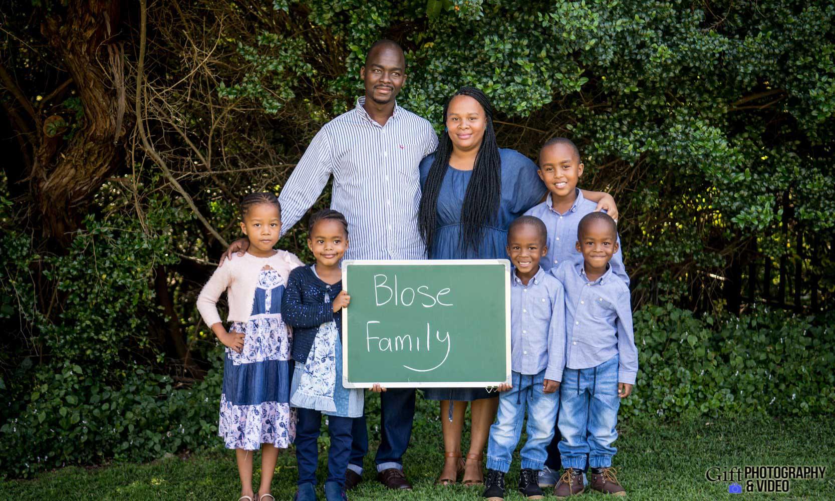 Blose Family Shoot Walter Sisulu Botanical Gaderns-3