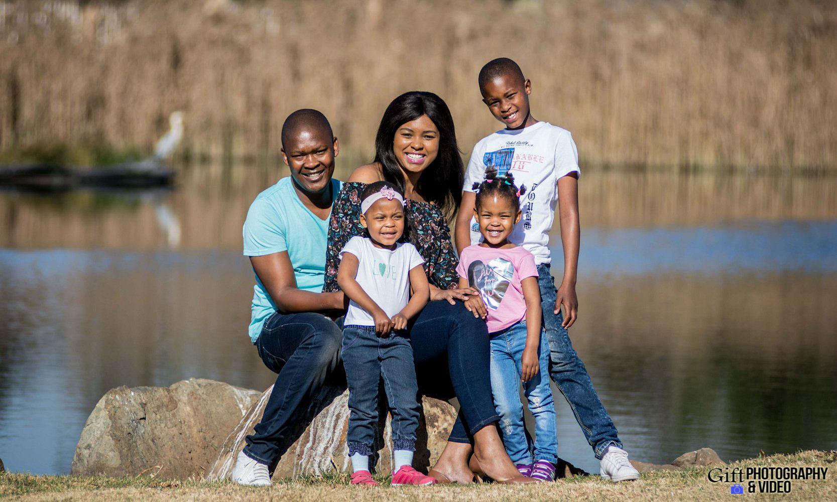 Lerato & Tumelo Family Shoot - Tokoza Park-1