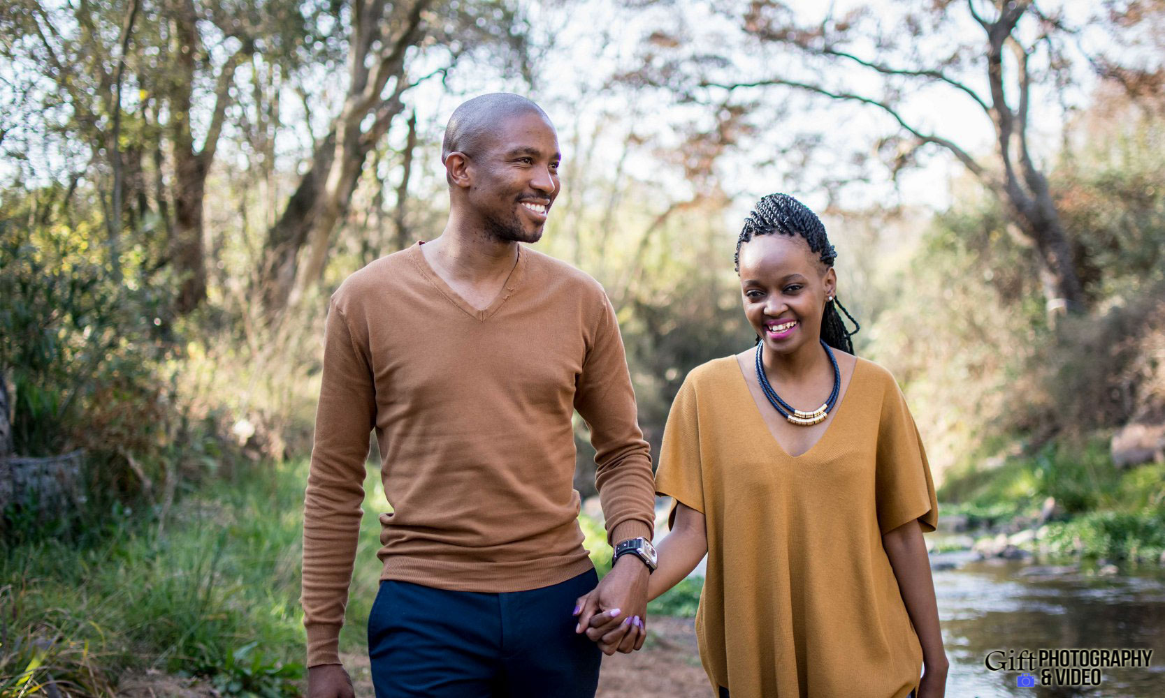 Thandi and Mosiuoa Engagement - Walter Sisulu Botanical Garden -3
